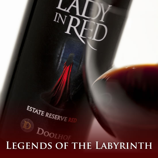 Doolhof Legends of the Labyrinth Wines