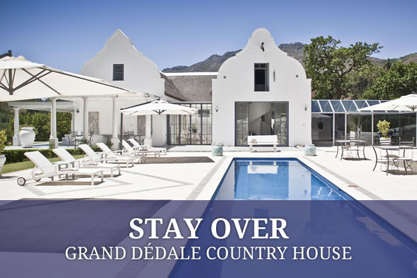Stay at Grand Dédale Country House, Wellington Accommodation